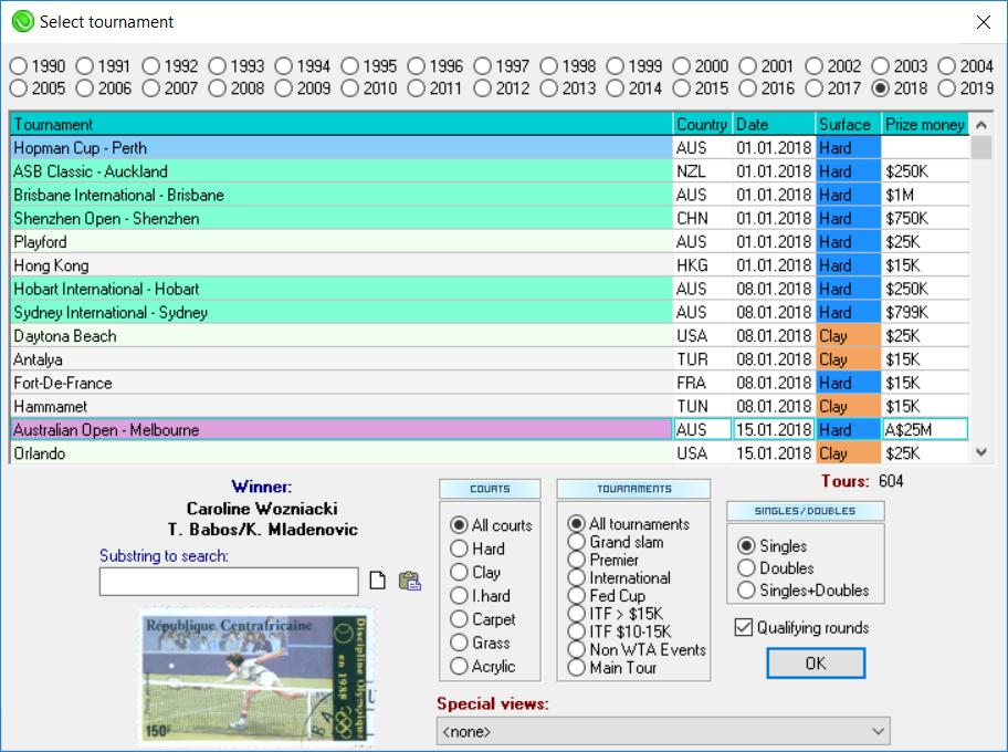 OnCourt - The best software for all tennis fans    | tennis, tennis